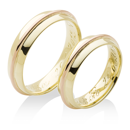 Jednoduche Prsteny S Jemnym Krouzkem Po Obvodu
