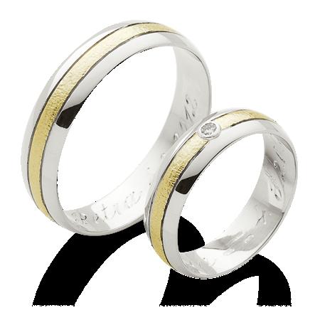 Klasicke Snubni Prsteny S Dvojitou Linkou