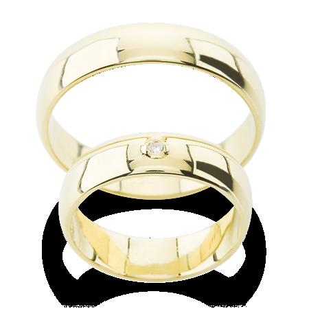 Klasicke Snubni Prsteny S Malym Kamenem