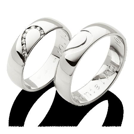 Prsteny Se Spolecnym Srdcem