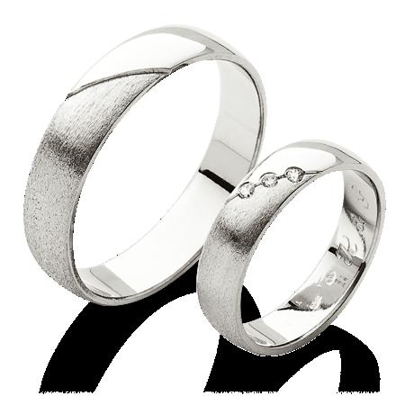 Klasicke Prsteny S Kombinaci Vysokeho Lesku A Hrubeho Matu