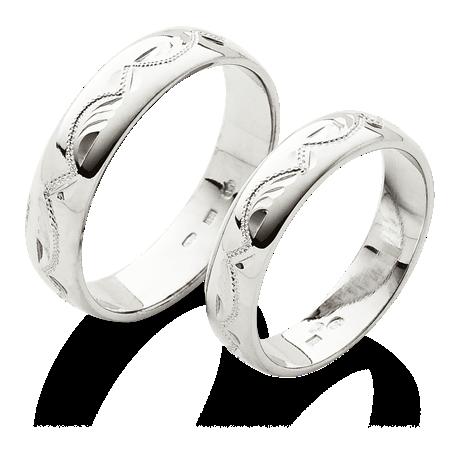 Klasickesnubni Prsteny S Rucni Rytinou