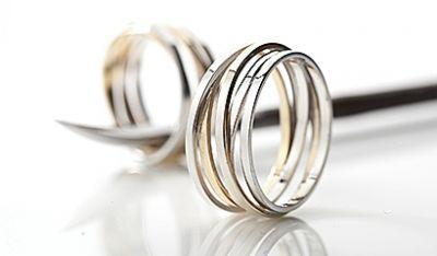 Masivni Prsteny S Jednoduchou Rytinou